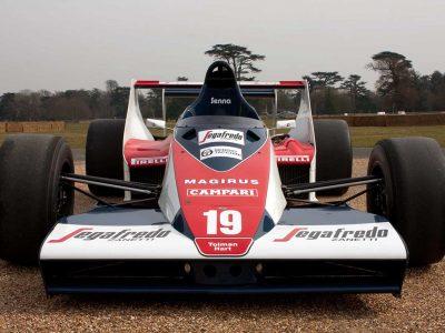 Senna's Toleman-Hart