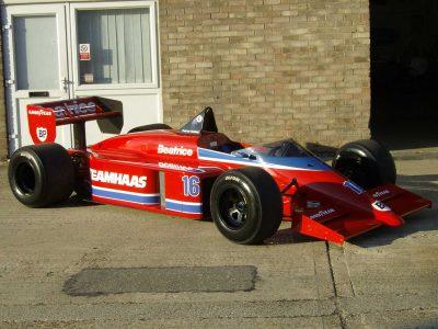 Patrick Tambay's Lola-Hart F1 Car