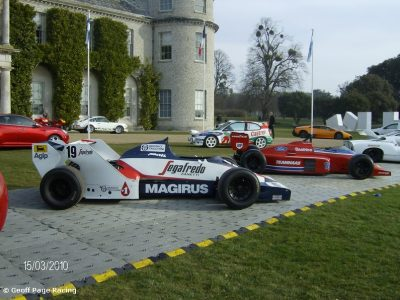 Lola-Hart and Toleman-Hart F1 Cars