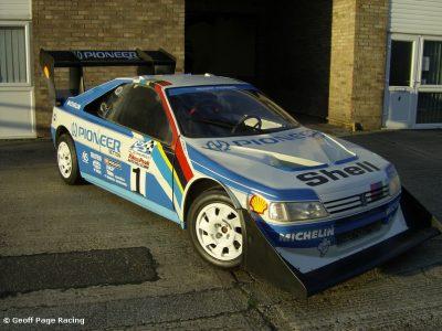 Ari Vatanen Pikes Peak Peugeot 405
