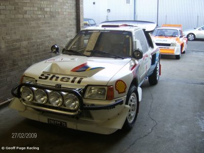 Works Peugeot T16