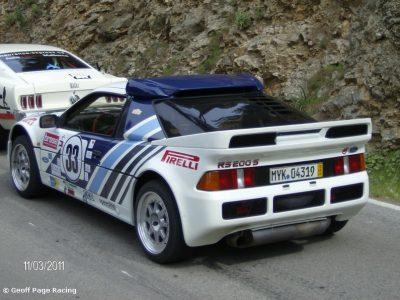 RS200 at Rally Clasico ilsa Mallorca