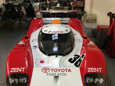 Toyota TS010 in GPR Workshop